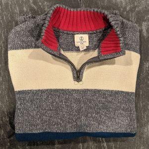NWOT Land's End 1/4 zip sweater boys xl 18-20